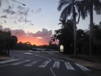 Beautiful sunset in Noosa